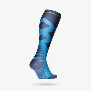 Skiing Socks Men - Turquoise / Yellow