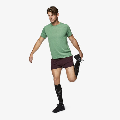 Running Socks Men - Black / Grey
