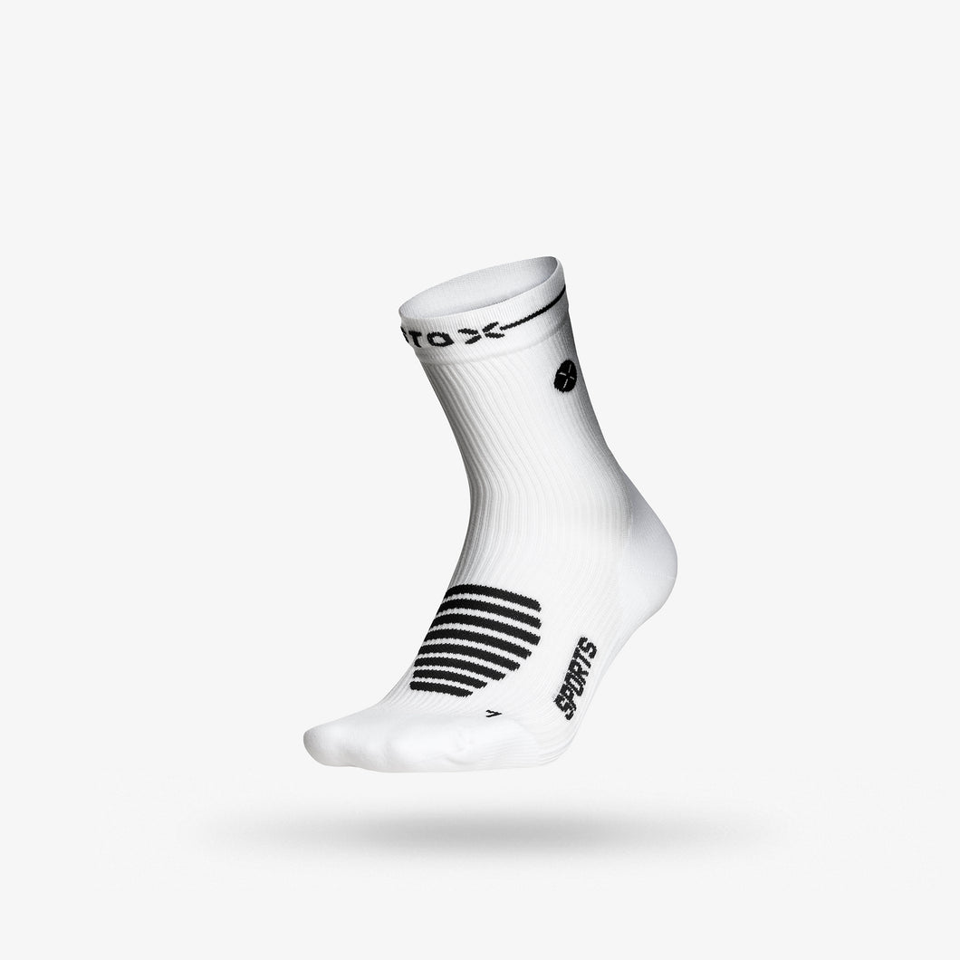 Sports Ankle 2-Pack Women - White / Black