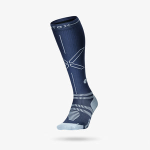 Sports Socks Men - Blue / Grey