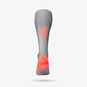 Sports Socks Women - Silver / Red