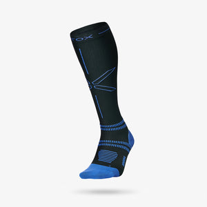 Running Socks Men - Black / Blue