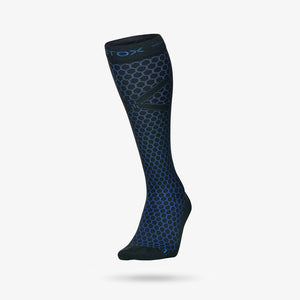 Football Socks Men - Black / Blue