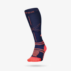 Sports Socks Men - Navy / Orange