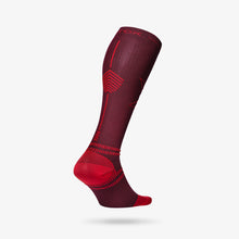 Load image into Gallery viewer, Running Socks Men - Bordeaux / Red