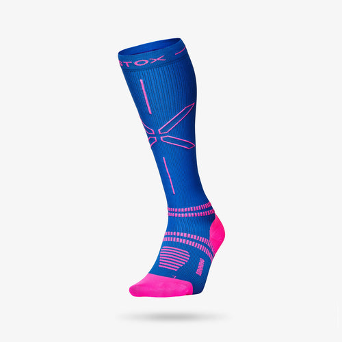 Running Socks Damen - Blau / Rosa