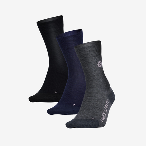 Sports Socks Femme - Navy / Orange