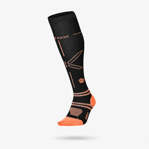Baseball Socks Damen - Régate / Orange
