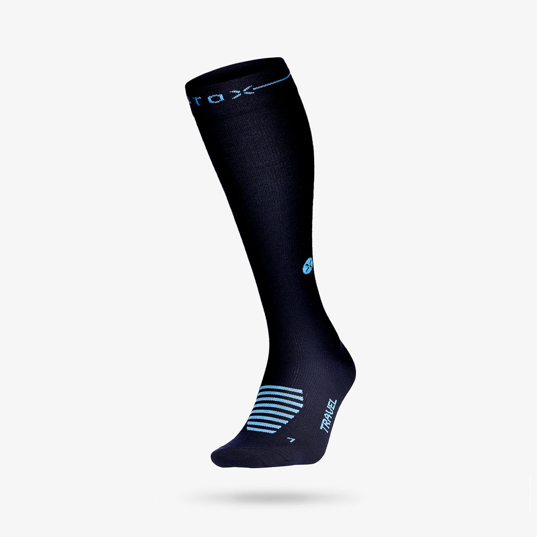 Travel Socks Women - Navy / Blue