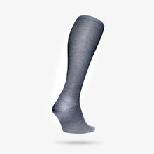 Load image into Gallery viewer, Travel Socks Women - MidGrey / Avio Blu