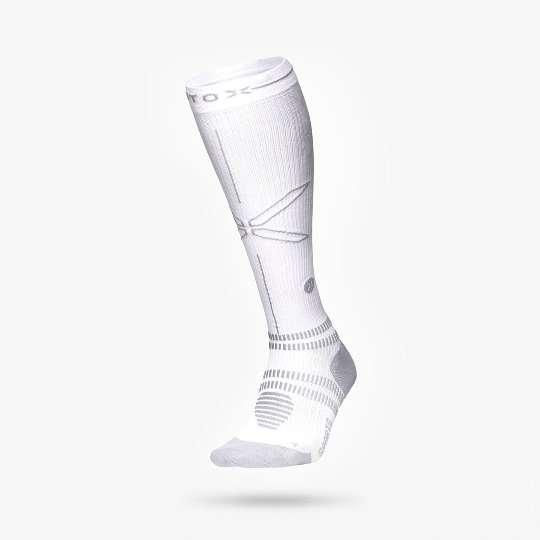 Sports Socks Women - White / Grey