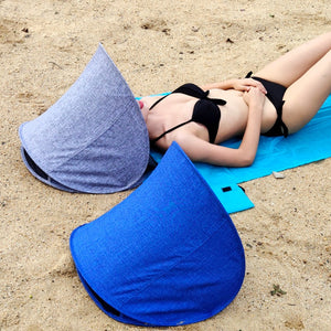 Summer Portable Beach Face Tent Umbrellas