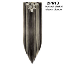 Load image into Gallery viewer, 8Pcs/set Long Straight Clip in Hair Extensions