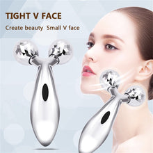 Load image into Gallery viewer, 3D Roller V Face Lift Facial Massager