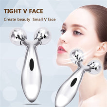 Load image into Gallery viewer, 3D Roller Massage V Face Lift Facial Massager