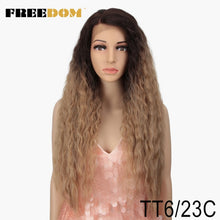 Load image into Gallery viewer, Curly Lace  Synthetic 360 Lace Frontal Wig