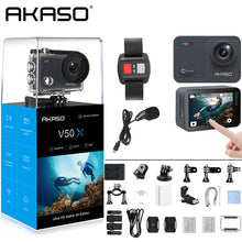 Load image into Gallery viewer, AKASO Native 4K/30fps WiFi Action Camera