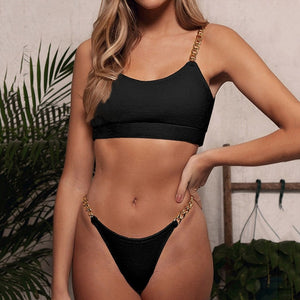 Women Split Bikini Two-piece Swimsuit