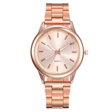 Load image into Gallery viewer, Women Rose Luxury  Gold Bracelet Watch
