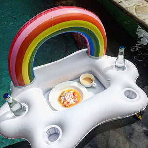 Inflatable Pool Floating Table Bar Tray