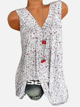 Load image into Gallery viewer, Plus Size Harajuku V Neck Print Blouses