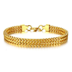 Amazing Men Stylish Bali Foxtail Chain Bracelet