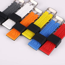 Load image into Gallery viewer, Men's Rubber Sport Watch Strap