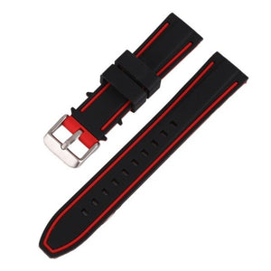 Men's Rubber Sport Watch Strap