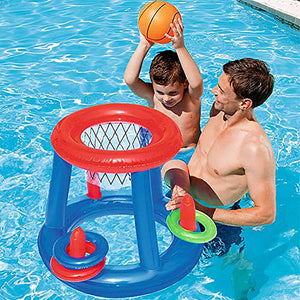 Inflatable Lightweight Floating Basketball