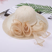 Load image into Gallery viewer, Summer Female Sun Flower  Hat