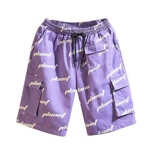 Mens Printed Plus Size Swimming Shorts