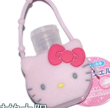 Load image into Gallery viewer, Hello kitty hand sanitizer body wash bottle lotion bottle travel