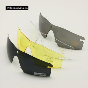 Polarized Army Military Goggles