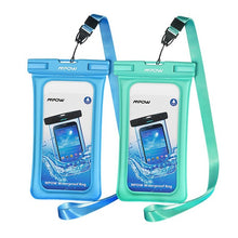 Load image into Gallery viewer, Floatable IPX8 Waterproof Phone Case Bag