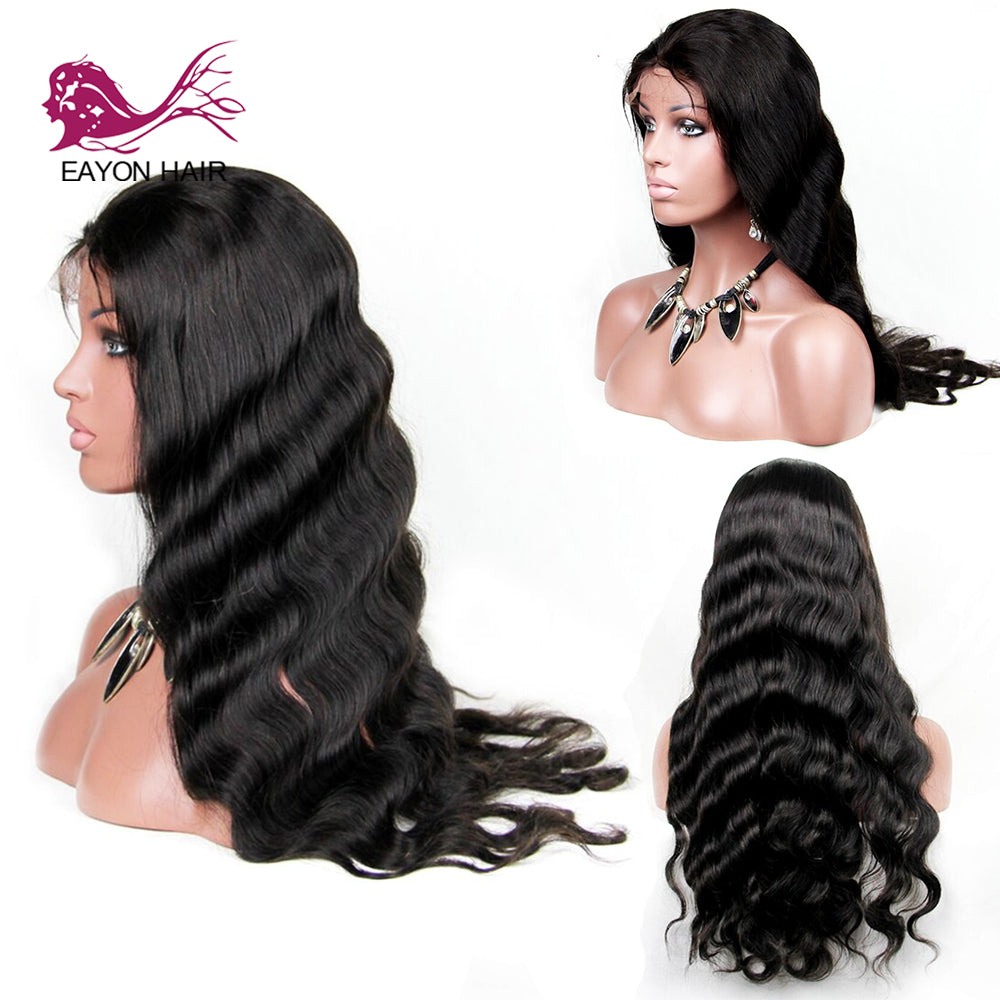 Brazilian 360 Human Hair Lace Frontal Wig