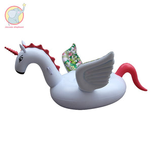 Inflatable pattern wing unicorn Pegasus floating toys