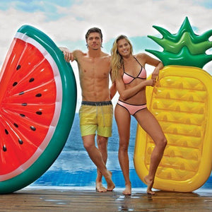 Inflatable Half Watermelon Floats Swimming Toys