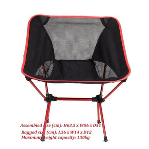 Portable Outdoor Lightweight Folding Chair