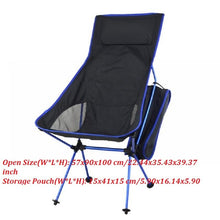 Load image into Gallery viewer, Portable Outdoor Lightweight Folding Chair