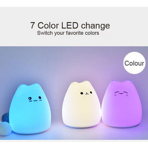 Cute Cat Night Light (ALL 3 FOR $63 USD)