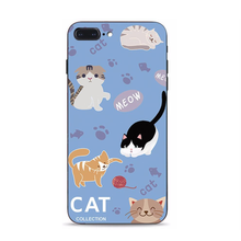 Load image into Gallery viewer, Adorable Cat iPhone Case
