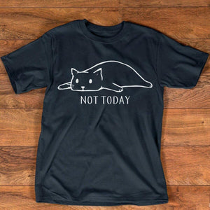 """Not Today"" Cat T-Shirt"