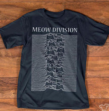 Load image into Gallery viewer, Meow Division Cat T-Shirt