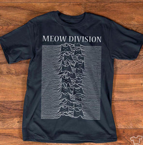 Meow Division Cat T-Shirt