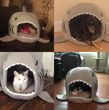Load image into Gallery viewer, Shark Cat Dog Bed