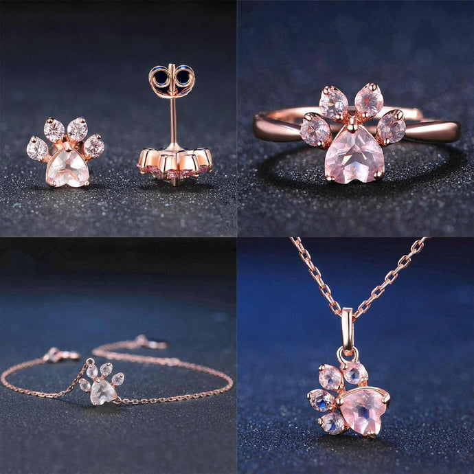 Rose Gold Paw Ring (ALL 4 FOR $49 USD)