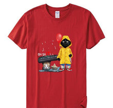 Load image into Gallery viewer, Funny Black Cat T-Shirt