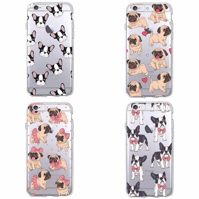 Cute Pug iPhone - Samsung Case