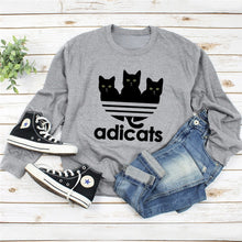 Load image into Gallery viewer, Cute Adicats Sweatshirt