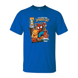 Funny Spider-Cat T-Shirt
